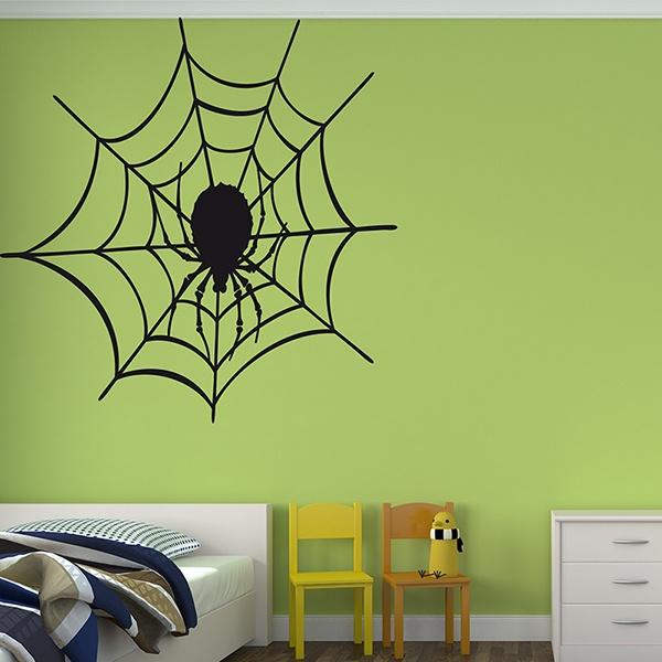 Stickers muraux: Tela de araña 3