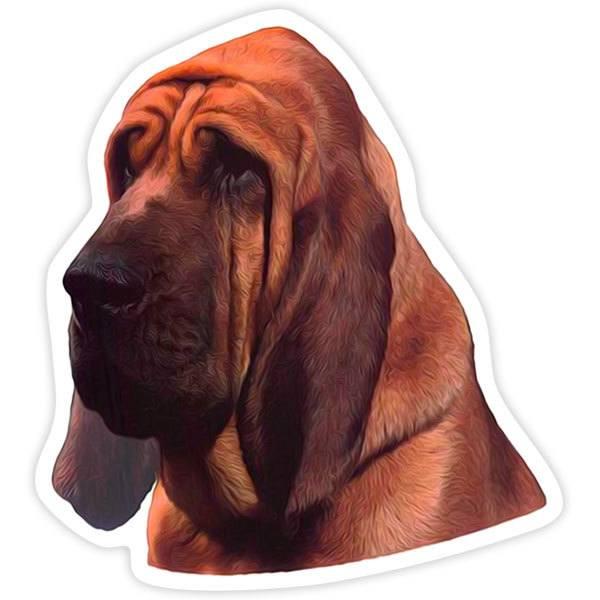 Autocollants: Bloodhound