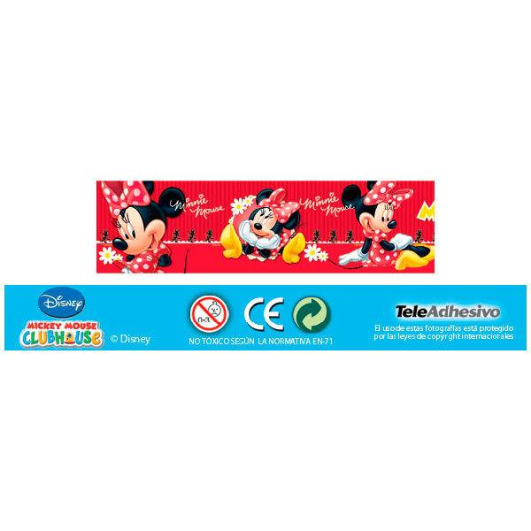 Stickers pour enfants: Minnie 2 Frontière