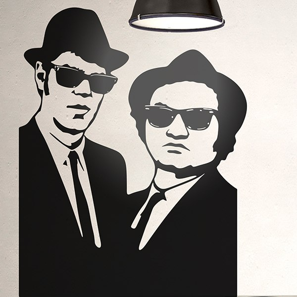 Stickers muraux: Blues Brothers 2
