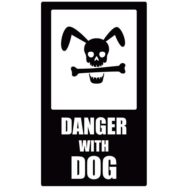 Stickers muraux: Danger Dog