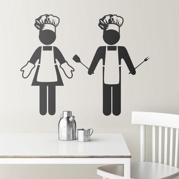 Stickers muraux: cuisine