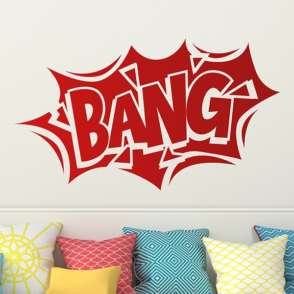 Stickers pour enfants: Comic Bang 02