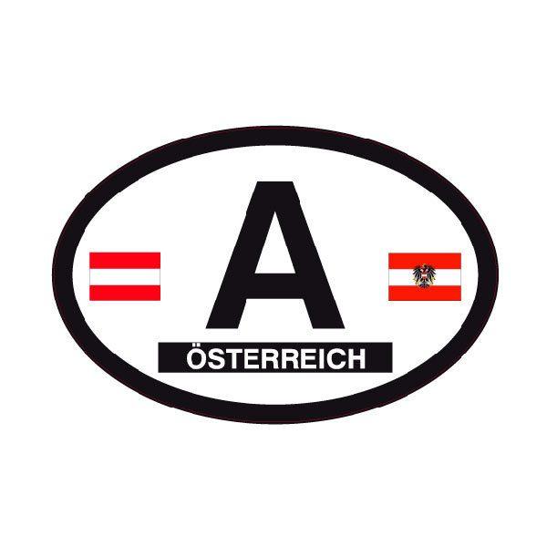 Autocollants: Österreich