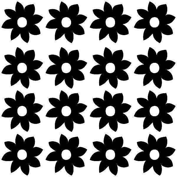 Stickers muraux: Hortensia d
