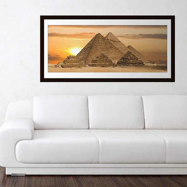 Stickers muraux: Pyramides de Gizeh