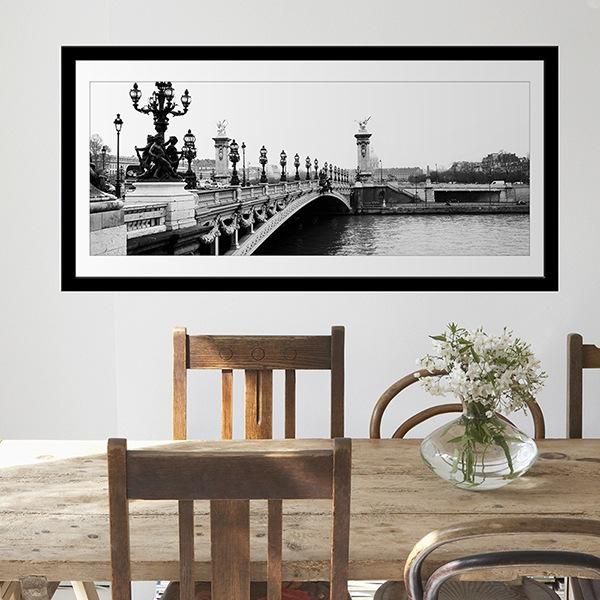Stickers muraux: Pont sur la Seine à Paris