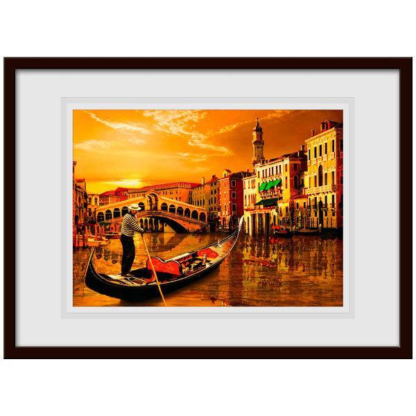 Stickers muraux: Gondole à Venise