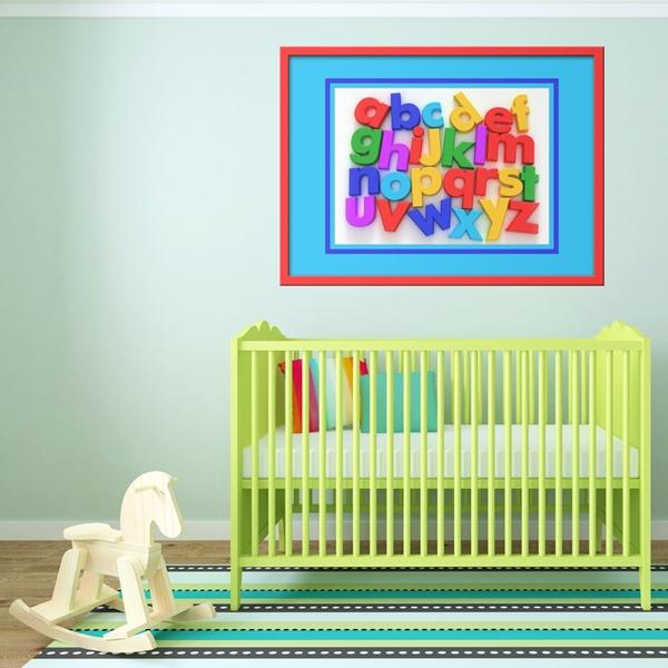 Stickers pour enfants: alphabet I