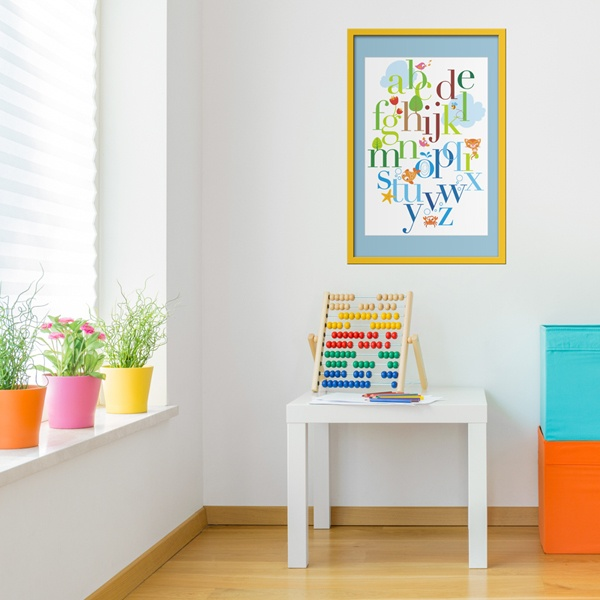 Stickers pour enfants: Alphabet 2