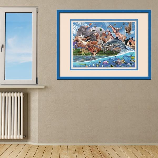 Stickers pour enfants: Land and Sea