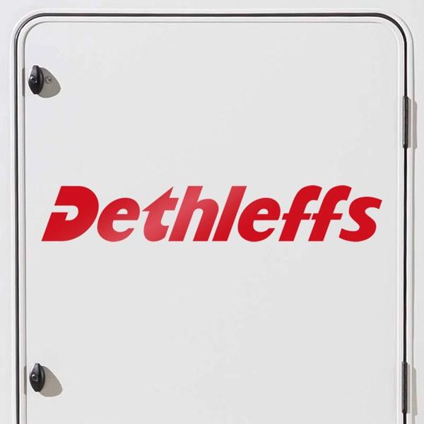 Autocollants: Dethleffs 1
