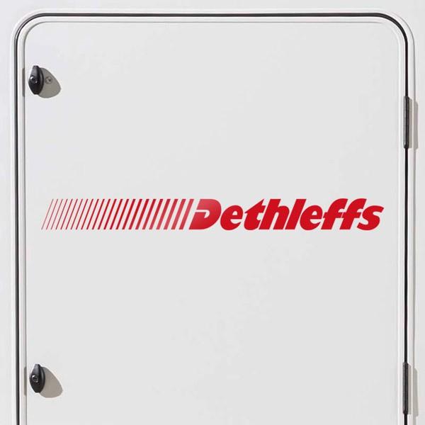 Autocollants: Dethleffs 2