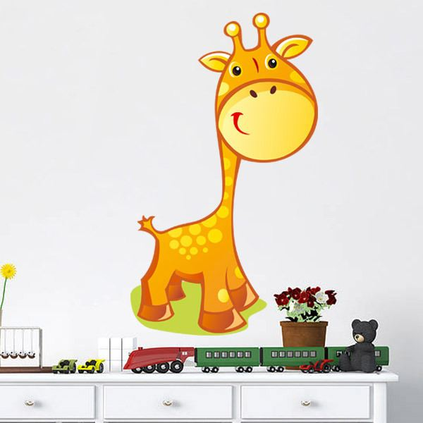 Stickers pour enfants: Giraffe