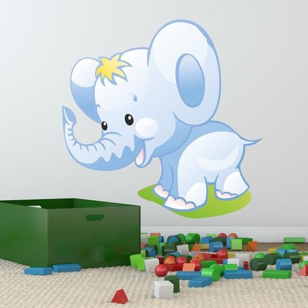 Stickers pour enfants: Éléphant