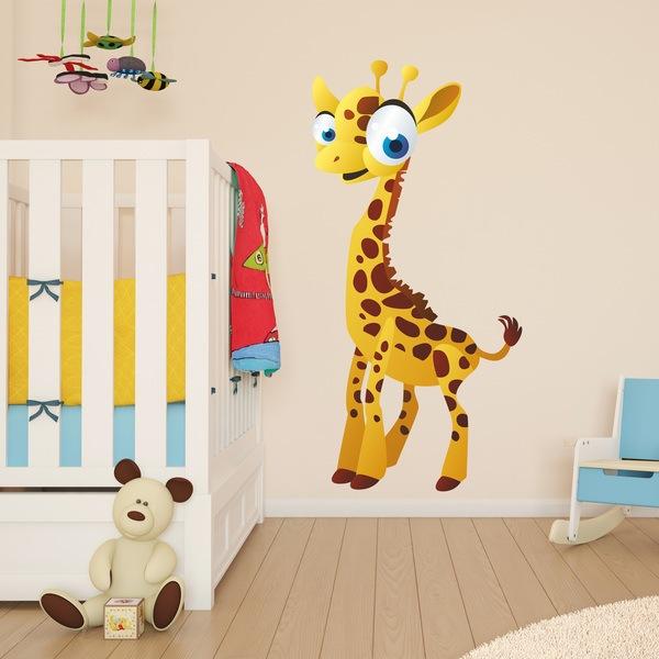 Stickers pour enfants: Girafe