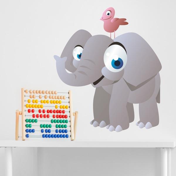 Stickers pour enfants: Elephant