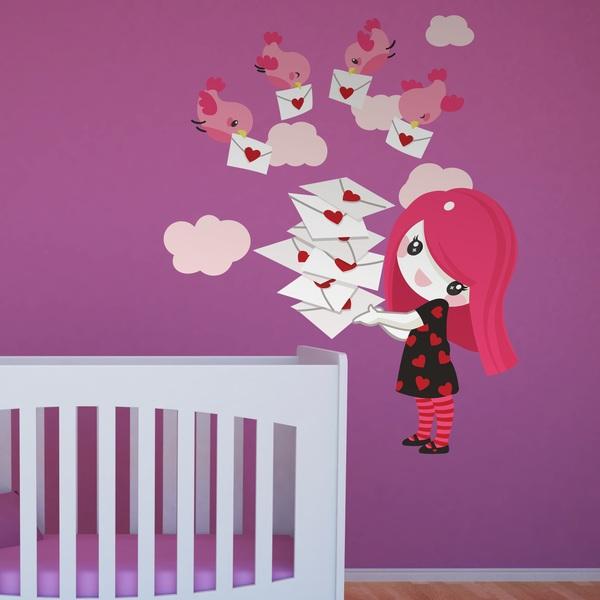 Stickers pour enfants: Fille