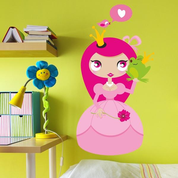 Stickers pour enfants: Princesse