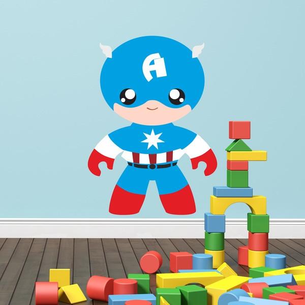 Stickers pour enfants: Homme A