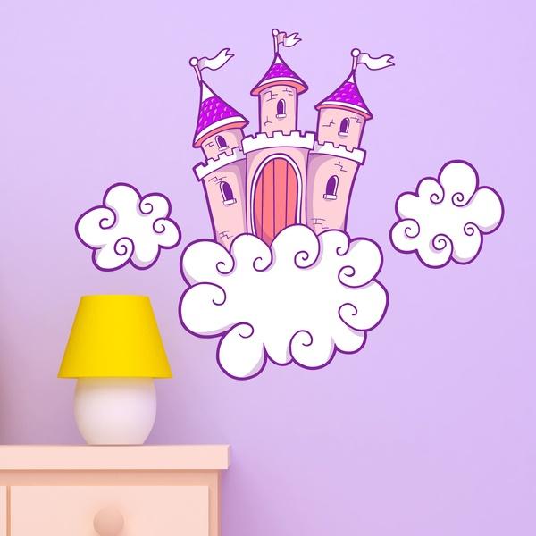 Stickers pour enfants: Château 1