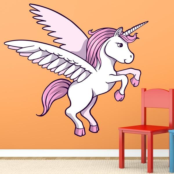 Stickers pour enfants: Licorne  1