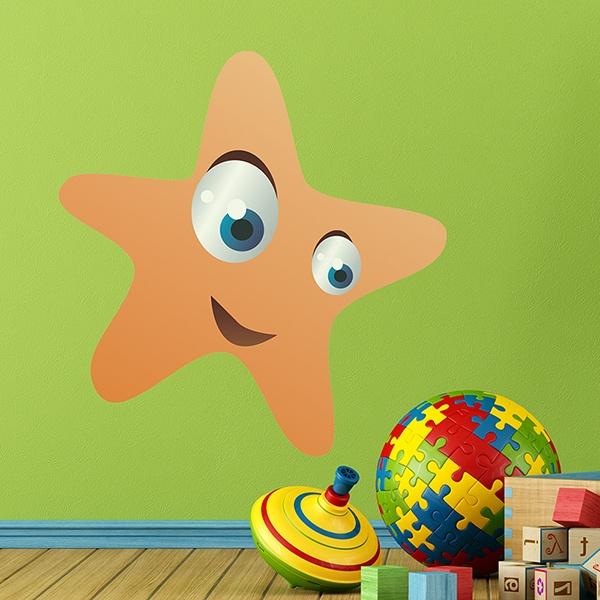 Stickers pour enfants: Étoile de mer