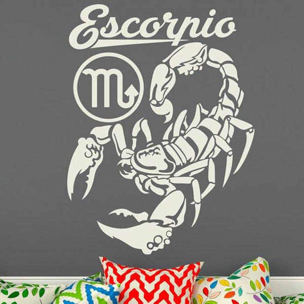 Stickers muraux: zodiaco 30 (Escorpio)