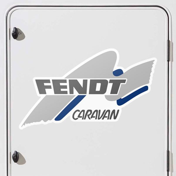 Autocollants: Fendt Caravan 3
