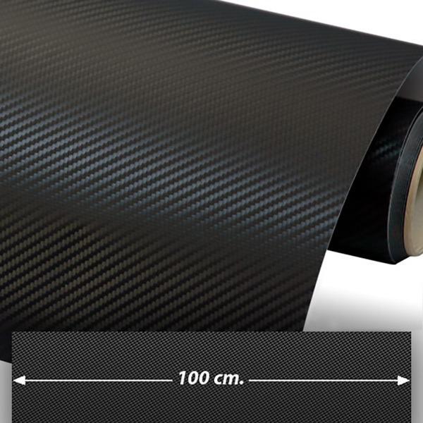 Autocollants: Film de fibre de carbone vinyle 100cm