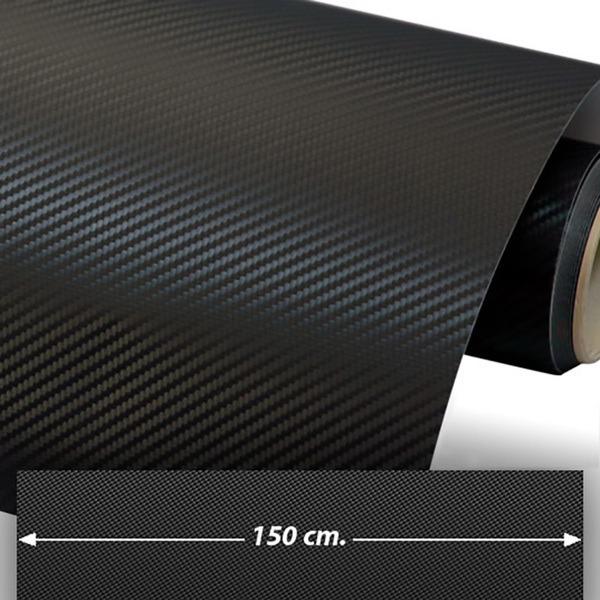 Autocollants: Film de fibre de carbone vinyle 150cm