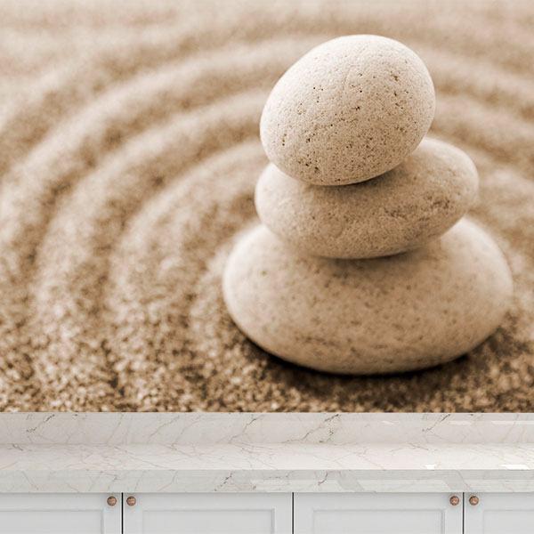Papier peint vinyle: Zen Garden