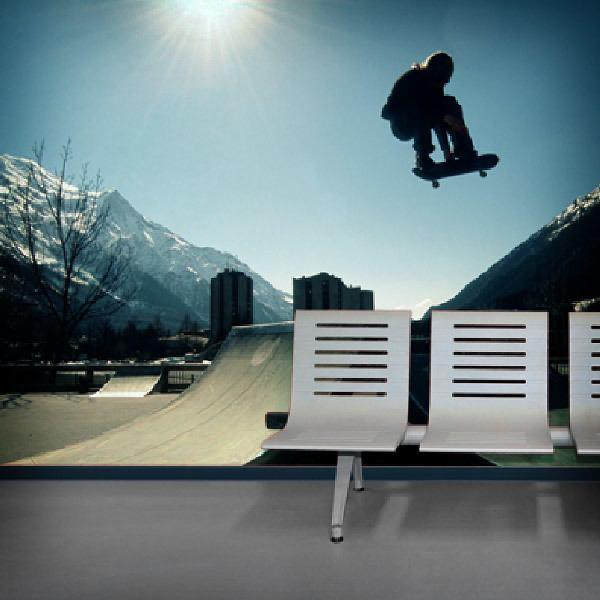 Papier peint vinyle: Skateboard