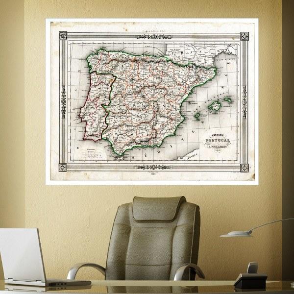 Papier peint vinyle: Espagne et Portugal