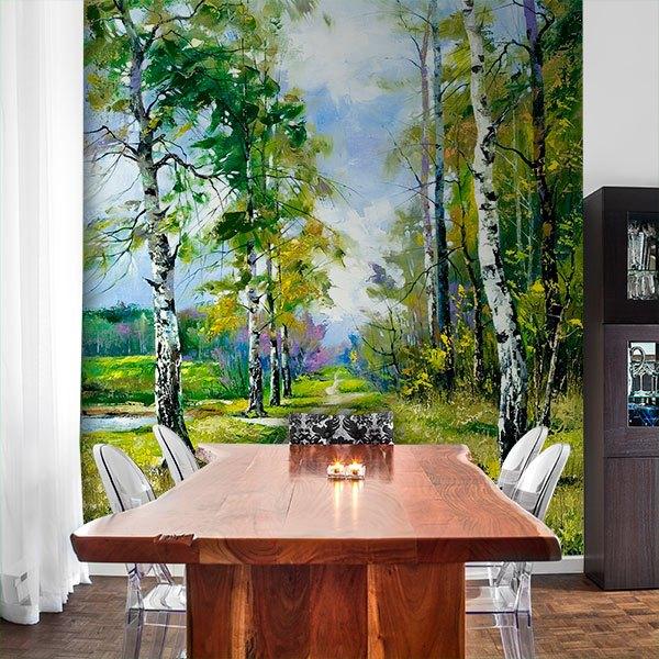 Papier peint vinyle: Forêt 4