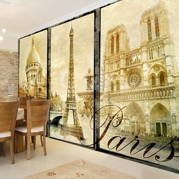Papier peint vinyle: Paris