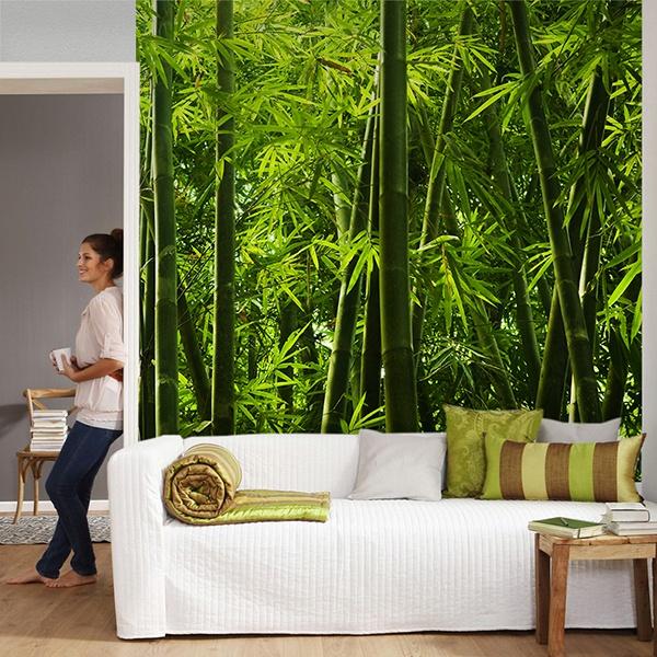 Papier peint vinyle: Bambou