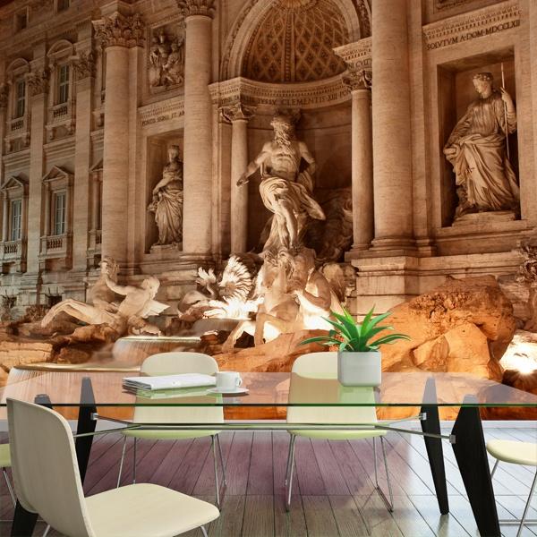 Papier peint vinyle: Fontana di Trevi