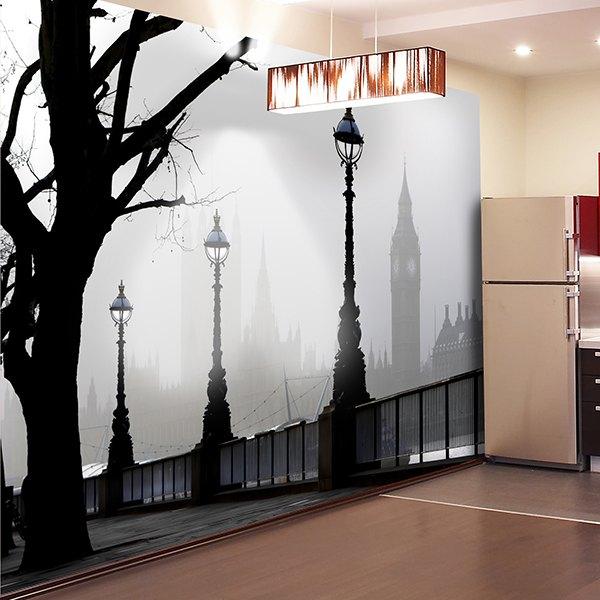 Papier peint vinyle: Londres 2