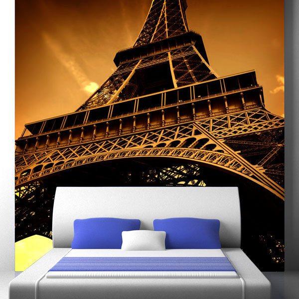 Papier peint vinyle: Tour Eiffel