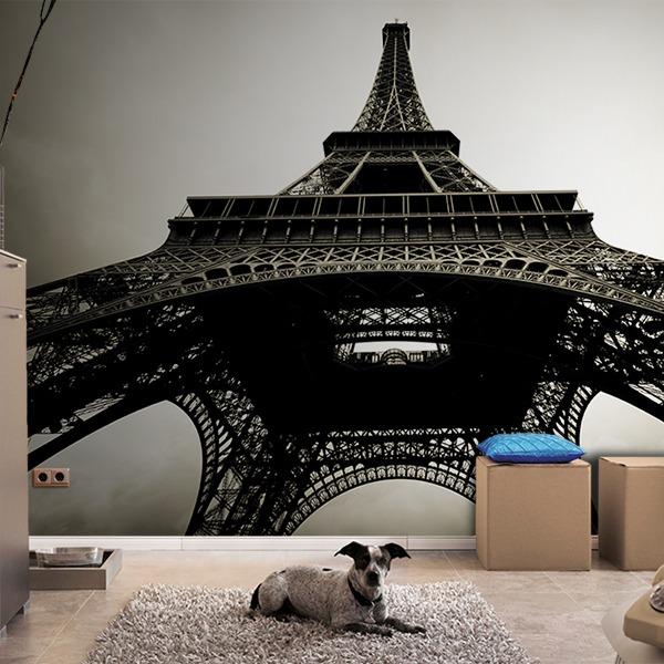 Papier peint vinyle: Tour Eiffel 4