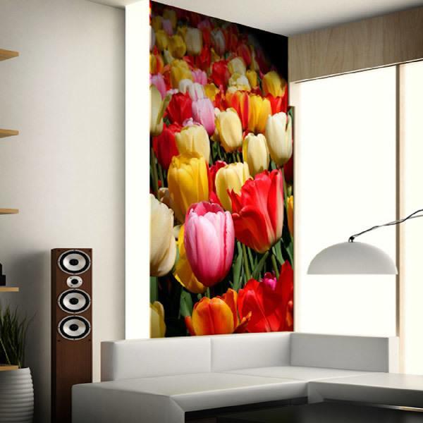Papier peint vinyle: Tulipe