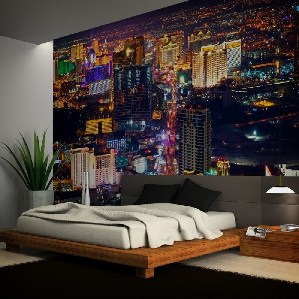 Papier peint vinyle: Las Vegas at Night
