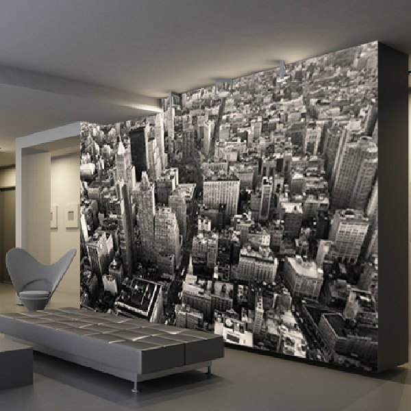Papier peint vinyle: New York Skyscrapes