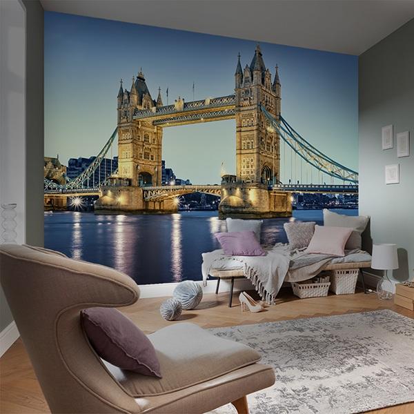 Papier peint vinyle: Puente de Londres