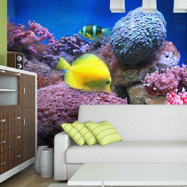 Papier peint vinyle: Aquarium 1