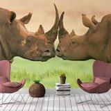 Papier peint vinyle: Rhinocéros