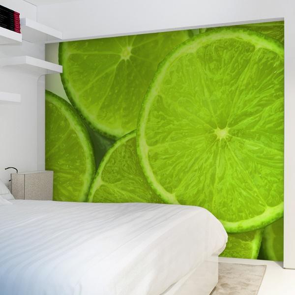 Papier peint vinyle: Limes