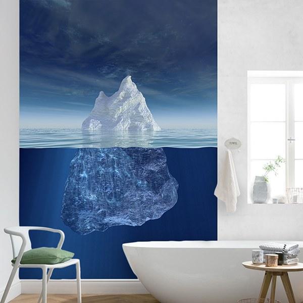 Papier peint vinyle: Iceberg