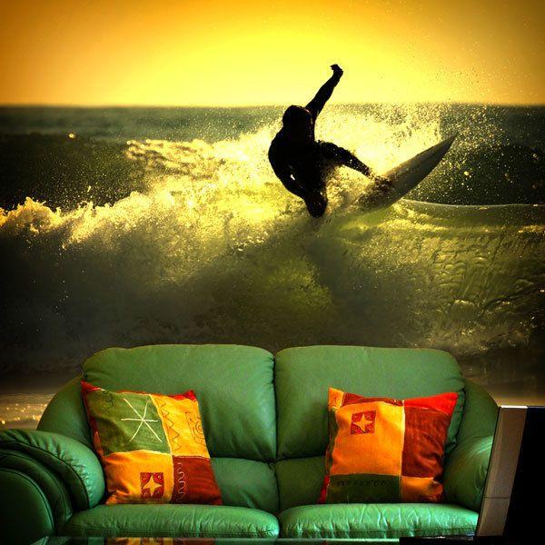 Papier peint vinyle: Surf